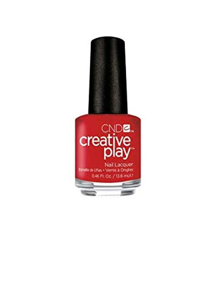 参照するブルーベル絶えずCND Creative Play Lacquer - Red-y to Roll - 0.46oz / 13.6ml