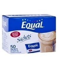 【砂糖の200倍の甘味料】 イコール EquaL 50包 (並行輸入商品)
