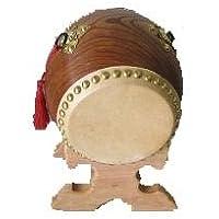 東太鼓工房 玩具太鼓 4寸 台付 バチ付