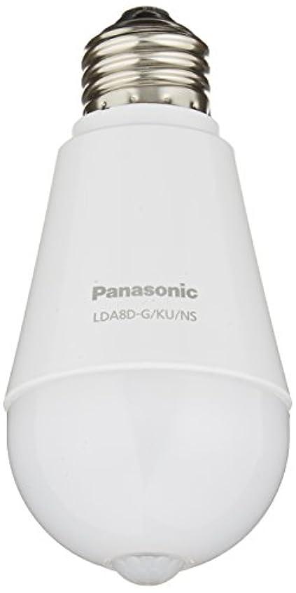 防衛降臨受け取るパナソニック LED電球 E26口金 電球60形相当 昼光色相当(7.8W) 一般電球?人感センサー LDA8DGKUNS