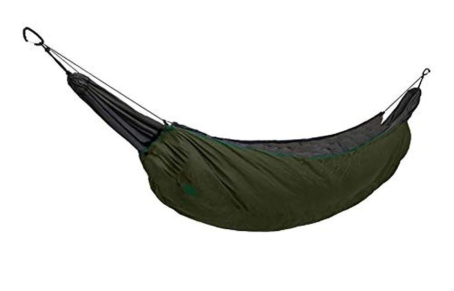 主権者崇拝します鹿WINGONEER® Outdoor All Weather Camping Hammock Insulation Nylonsleeping bag(寝袋), Used as Blankets,Camping Military Sleeping Insulate Reflect Heat Parcel Hammock - Military Green [並行輸入品]