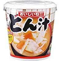 神州一味噌 おいしいね!! とん汁 カップ 30個【1甲 6×5】