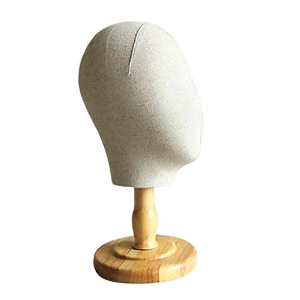 文言キッチン非公式DYNWAVE マネキンヘッド 顔なし キャンバス ウィッグスタンド 帽子ハンガー ディスプレイ スタンド