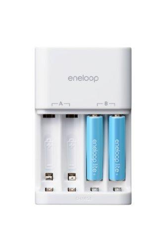 SANYO eneloop lite 充電器セット 単4形eneloop lite2個セットN-TGL0104QS
