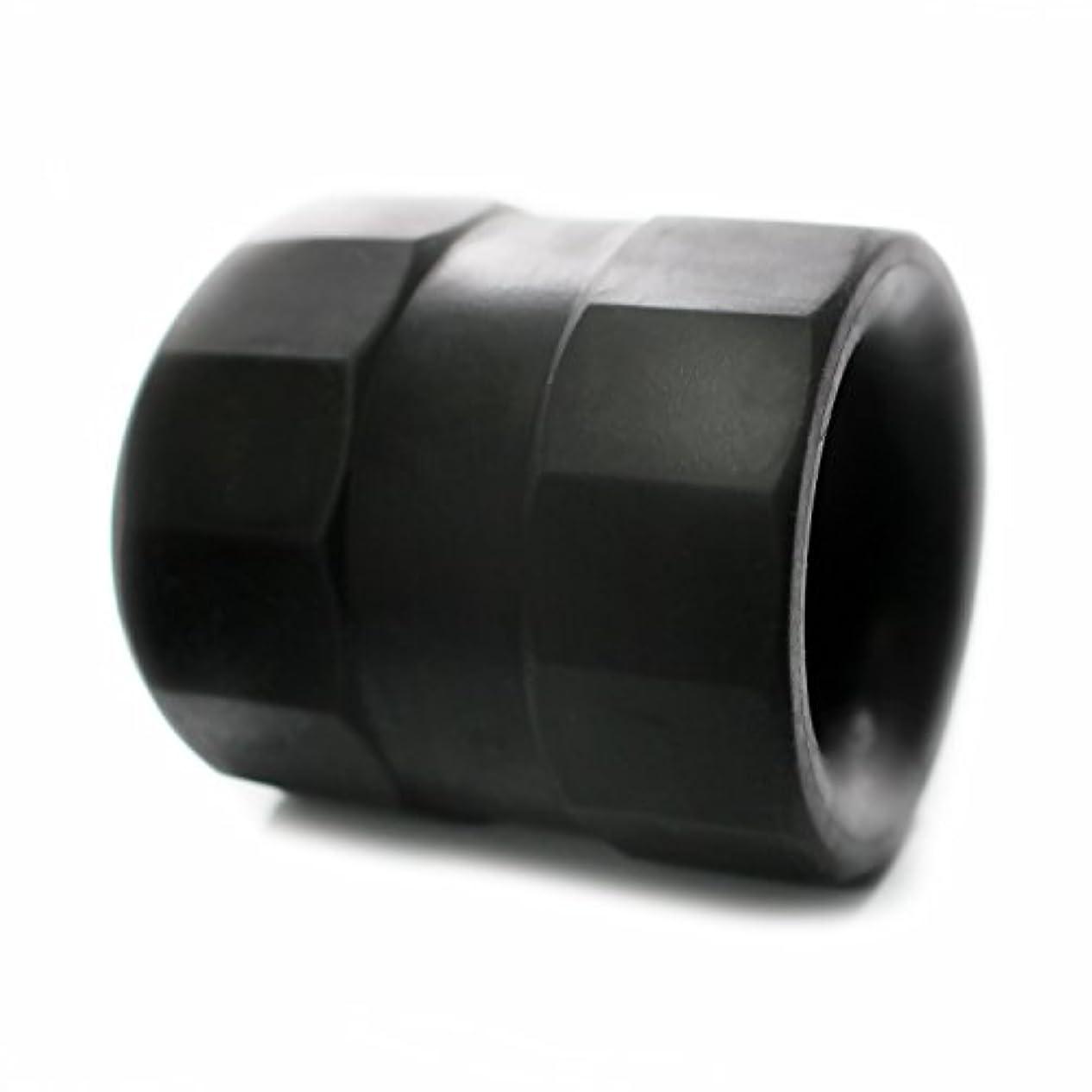 花束こねる同盟スーパーボールストレッチ TPE ボールストレッチャー コックリング 129 (ブラック)