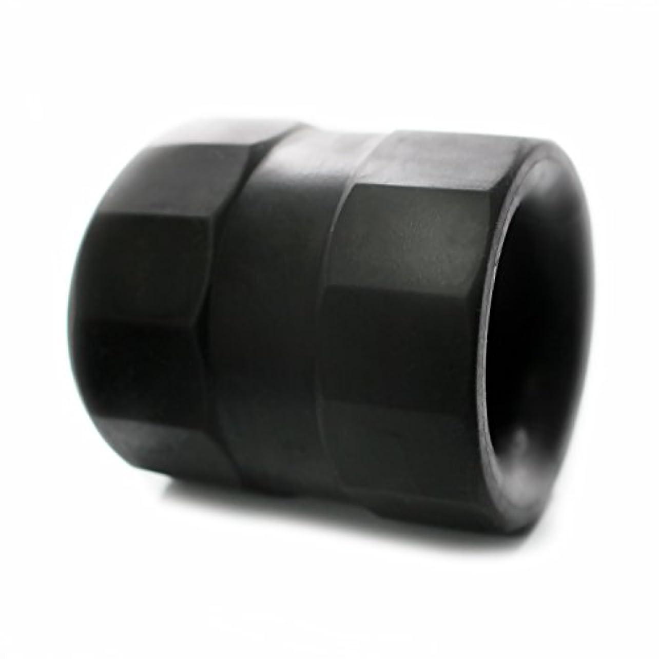ルーム告発メタルラインスーパーボールストレッチ TPE ボールストレッチャー コックリング 129 (ブラック)