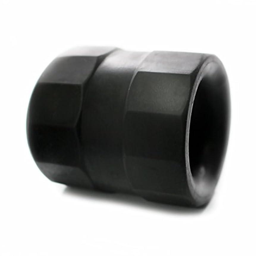 詩人処方ループスーパーボールストレッチ TPE ボールストレッチャー コックリング 129 (ブラック)