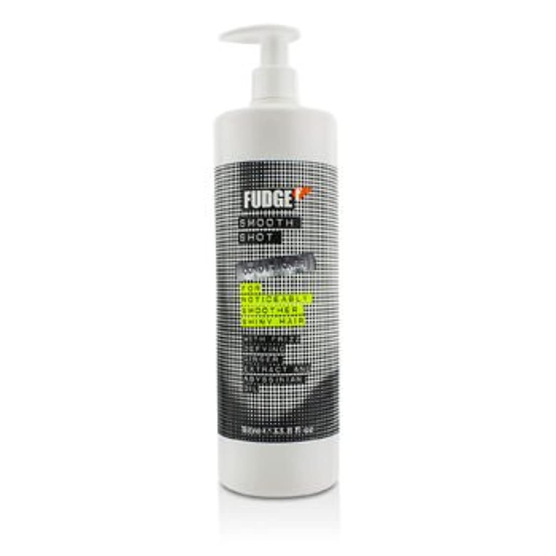 蒸し器戦い不正[Fudge] Smooth Shot Conditioner (For Noticeably Smoother Shiny Hair) 1000ml/33.8oz