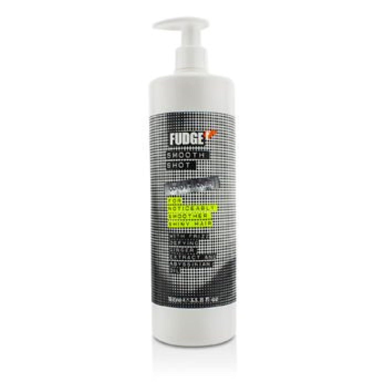 驚いたゴールデンコンテンツ[Fudge] Smooth Shot Conditioner (For Noticeably Smoother Shiny Hair) 1000ml/33.8oz