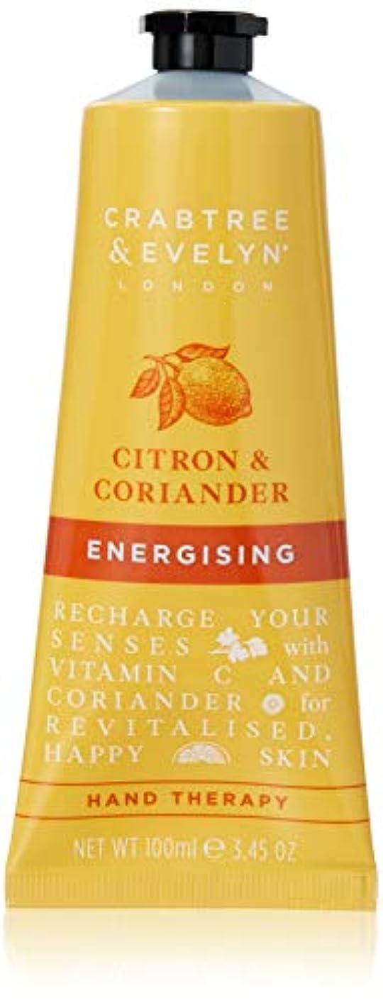 興奮する学生息を切らしてクラブツリー&イヴリン Citron & Coriander Energising Hand Therapy 100ml/3.45oz並行輸入品