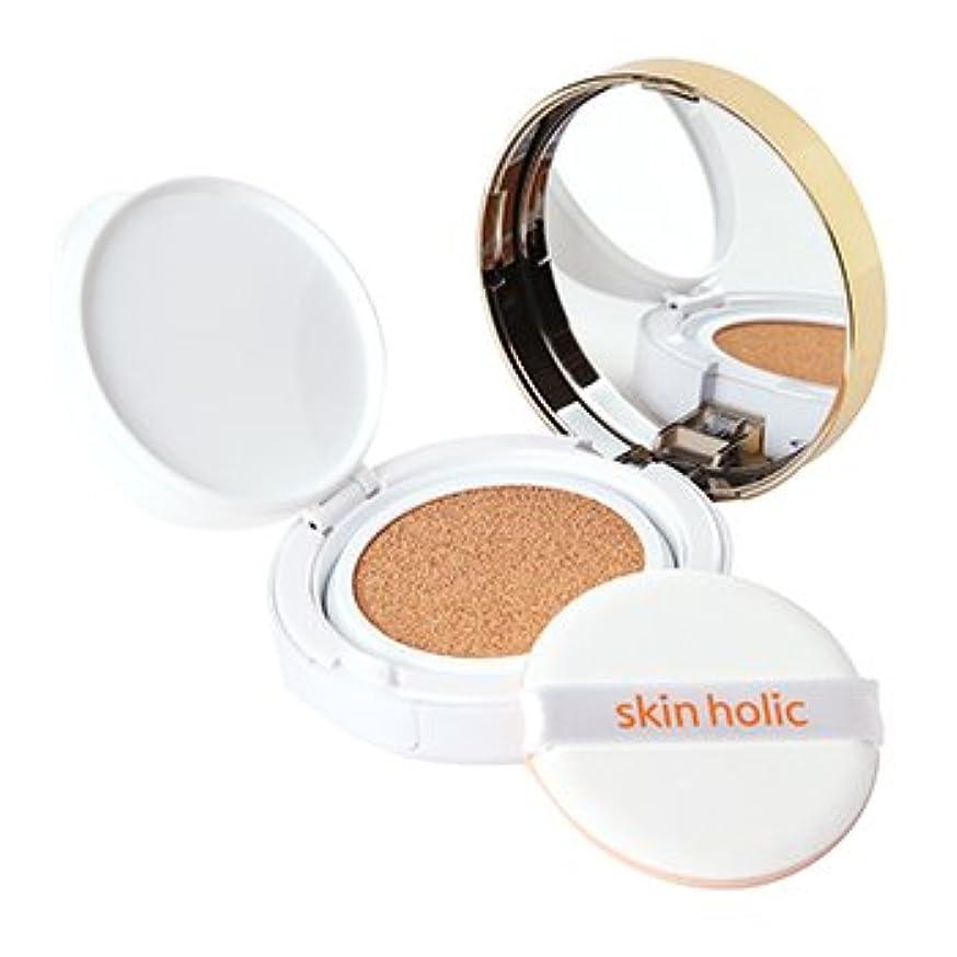 ブート添加剤加速度skin holic モイストモイスチャー クッションファンデーション スキンホリック