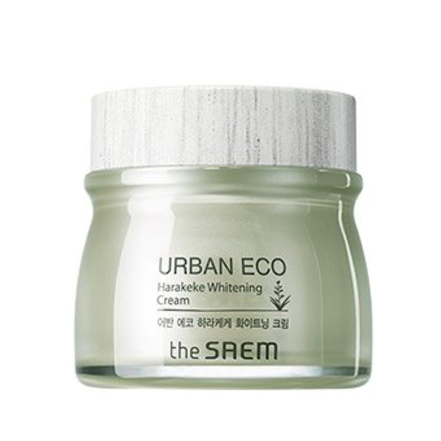 設計図大声でにもかかわらずthe SAEM Urban Eco Harakeke Whitening Cream 60ml/ザセム アーバン エコ ハラケケ ホワイトニング クリーム 60ml