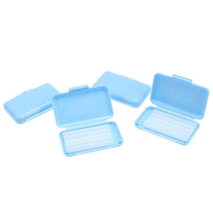 ラベル強化限られたHealifty 20個セット 歯科矯正用ワックス 保護ワックス 携帯用 抗潰瘍 持ち運び便利 口腔ケア ミントフレーバー