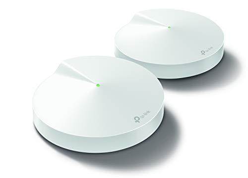 TP-Link メッシュ Wi-Fi システム トライバンド AC2200 (867 + 867 + 400) 無線LAN ルーター スマートハブ内臓 セキュリティ搭載 2ユニット Deco M9 Plus