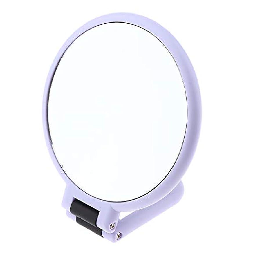 情熱的無能キルス両面折りたたみ 化粧鏡(5倍/ 10倍) 2タイプ選べ - 10倍