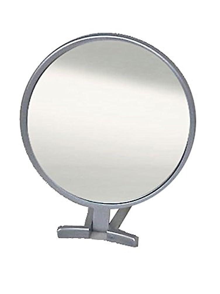 飼料予見する潜在的な鏡 ハンドミラー 折立 No.455 シルバー