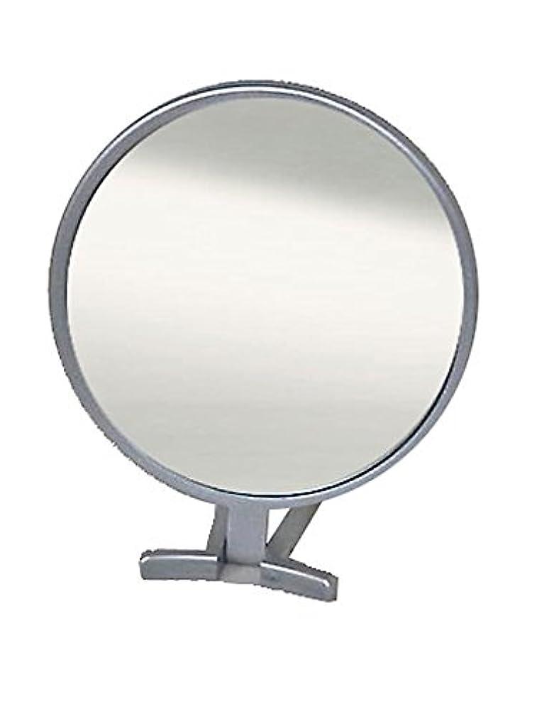 侵入艶できれば鏡 ハンドミラー 折立 No.455 シルバー