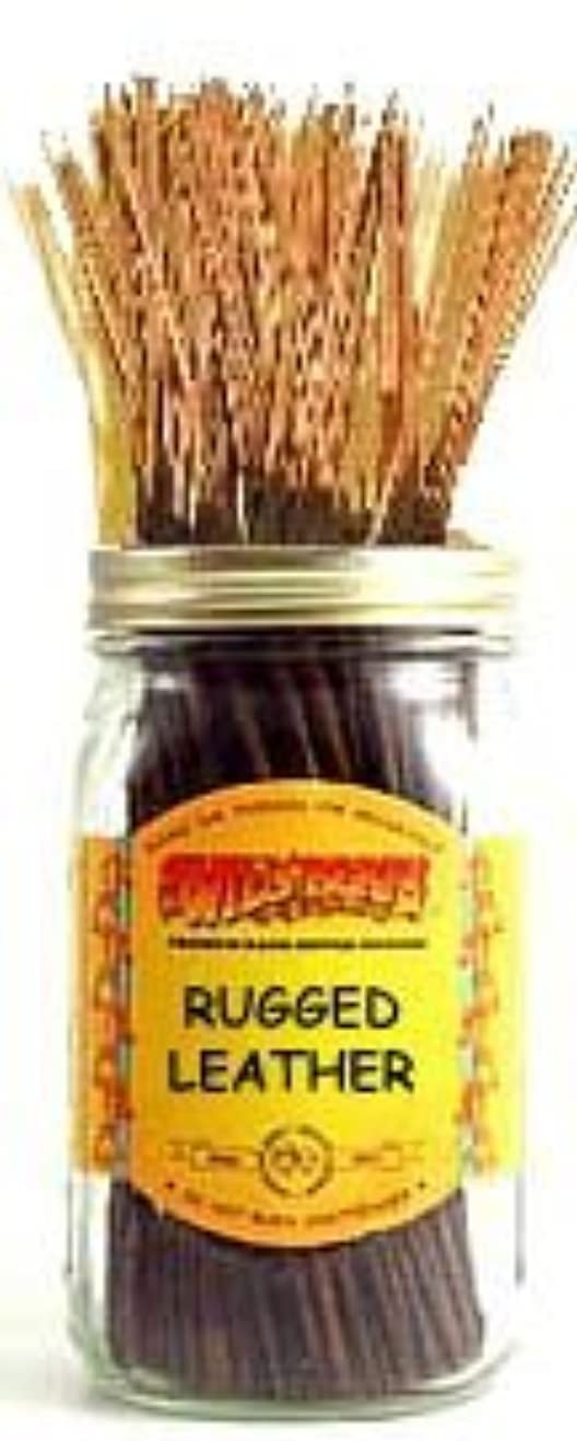 連隊中央値創傷Rugged Leather - 100 Wildberry Incense Sticks [並行輸入品]
