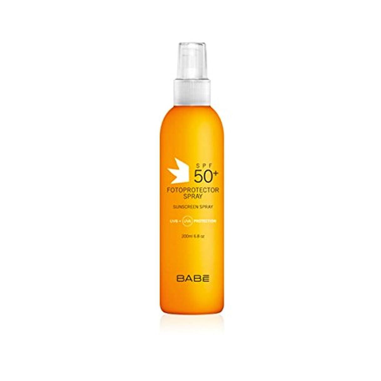 キャンプ参加するおもしろいBabe Sunscreen Spray Spf50+ 200ml [並行輸入品]