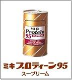パウダー狀の分離大豆たんぱく ミキプロティーン95 スープリーム 425g