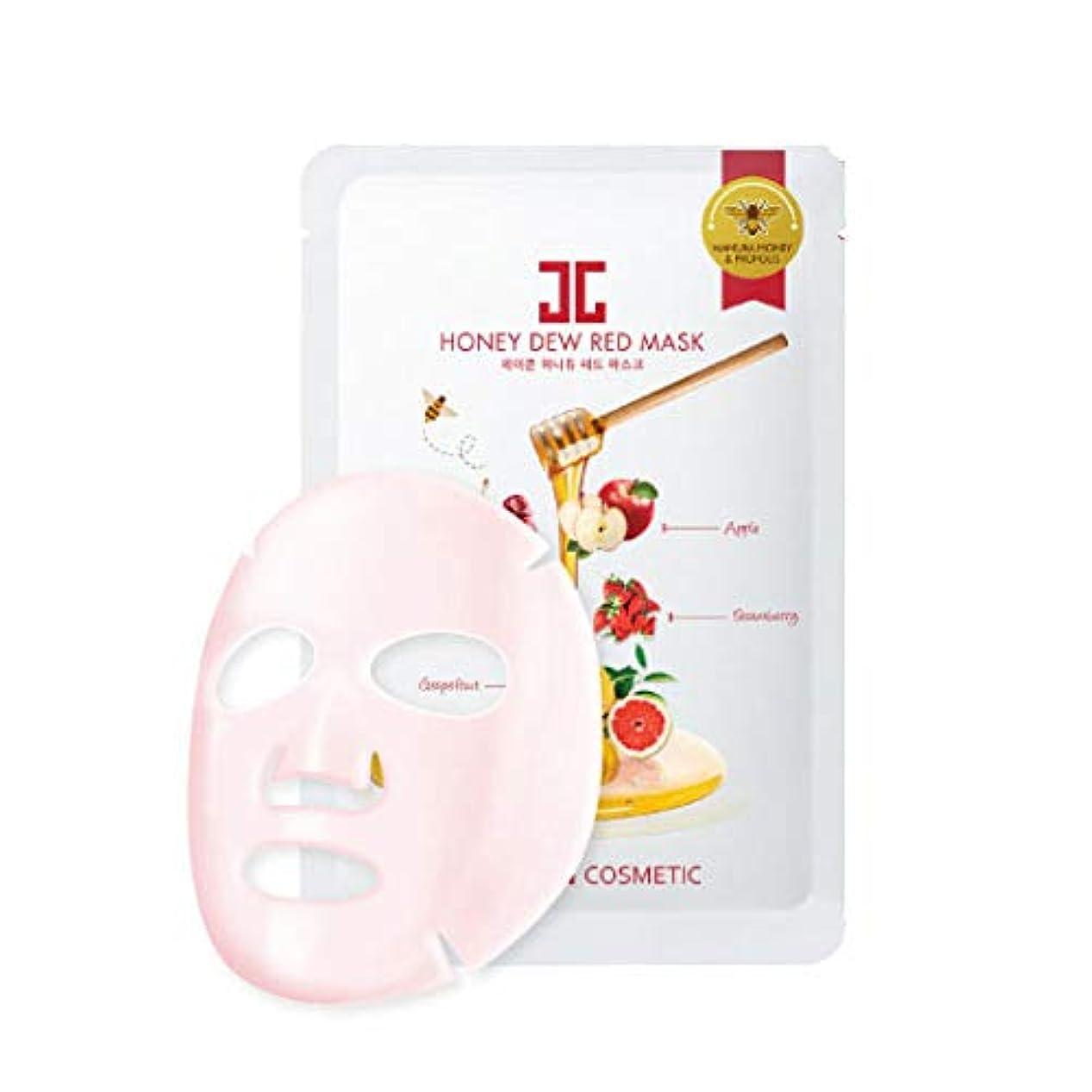 一月前件いつもJayjun(ジェイジュン) ハニーデューレッドマスクシート5枚セット