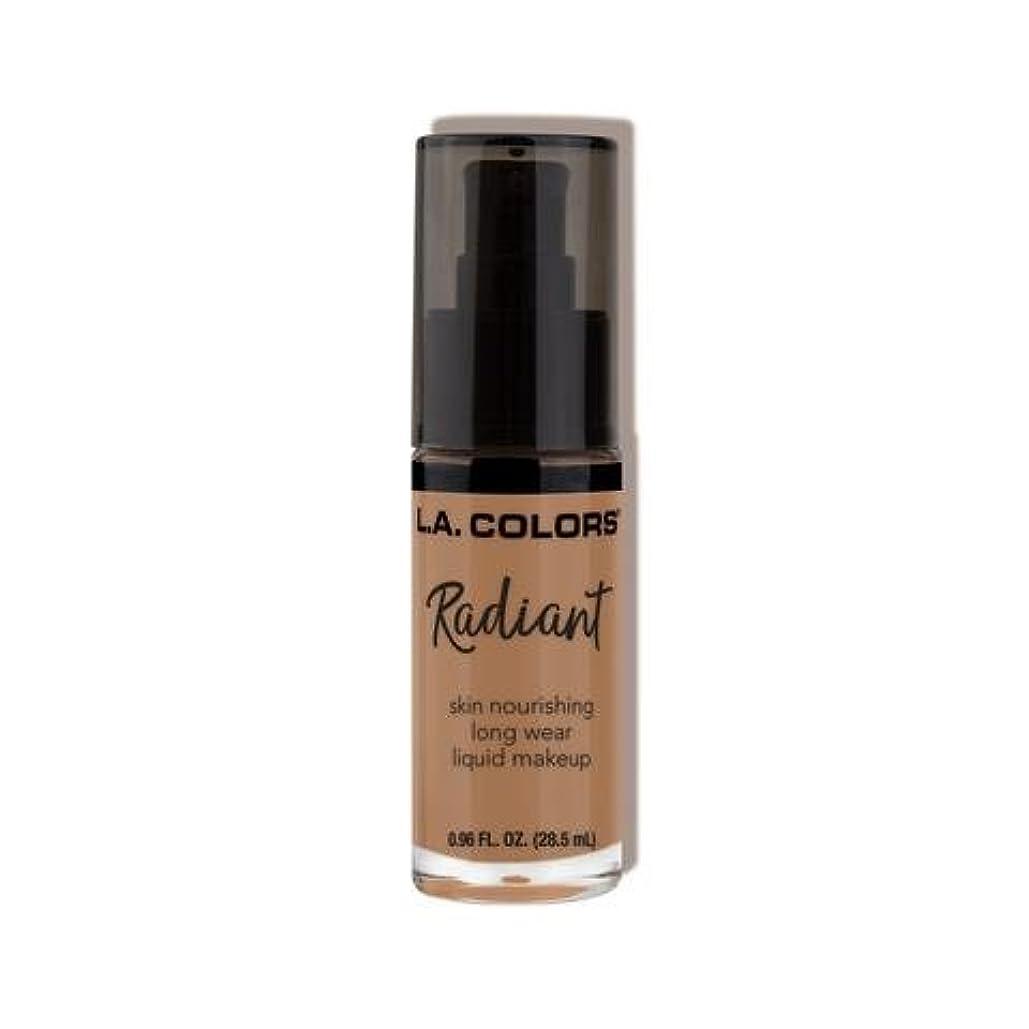 レモン恥ずかしさせがむ(6 Pack) L.A. COLORS Radiant Liquid Makeup - Creamy Cafe (並行輸入品)