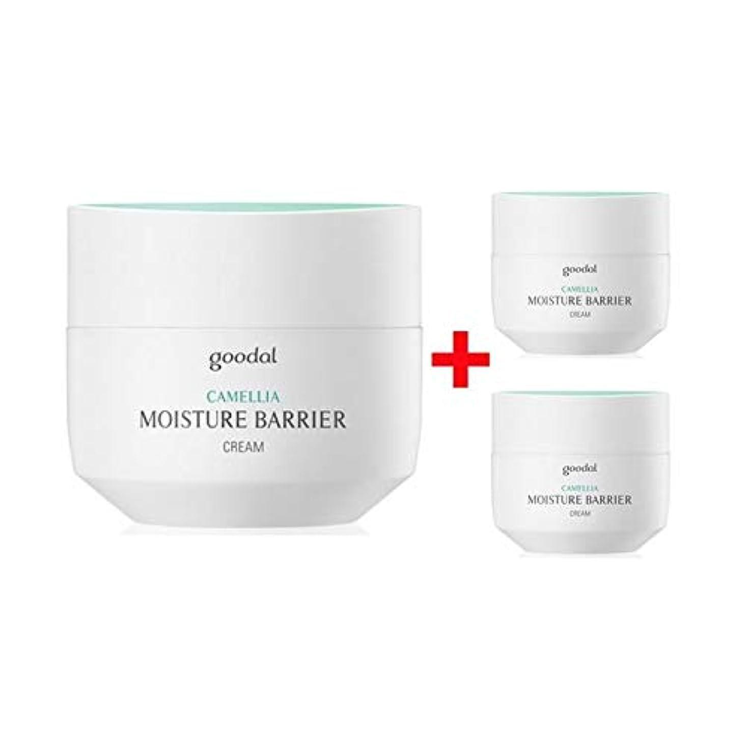 [ 50ml+10ml+10ml] グーダル カメリア モイスチャー バリア クリーム スペシャル セット Goodal Camellia Moisture Barrier Cream Special Set [並行輸入品]