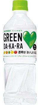 GREEN DA・KA・RA(グリーンダカラ) 500ml×24本 PET