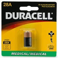 DURACELL 【4LR44】【2CR1/3N】互換! PX28ABアルカリ電池【並行輸入品】