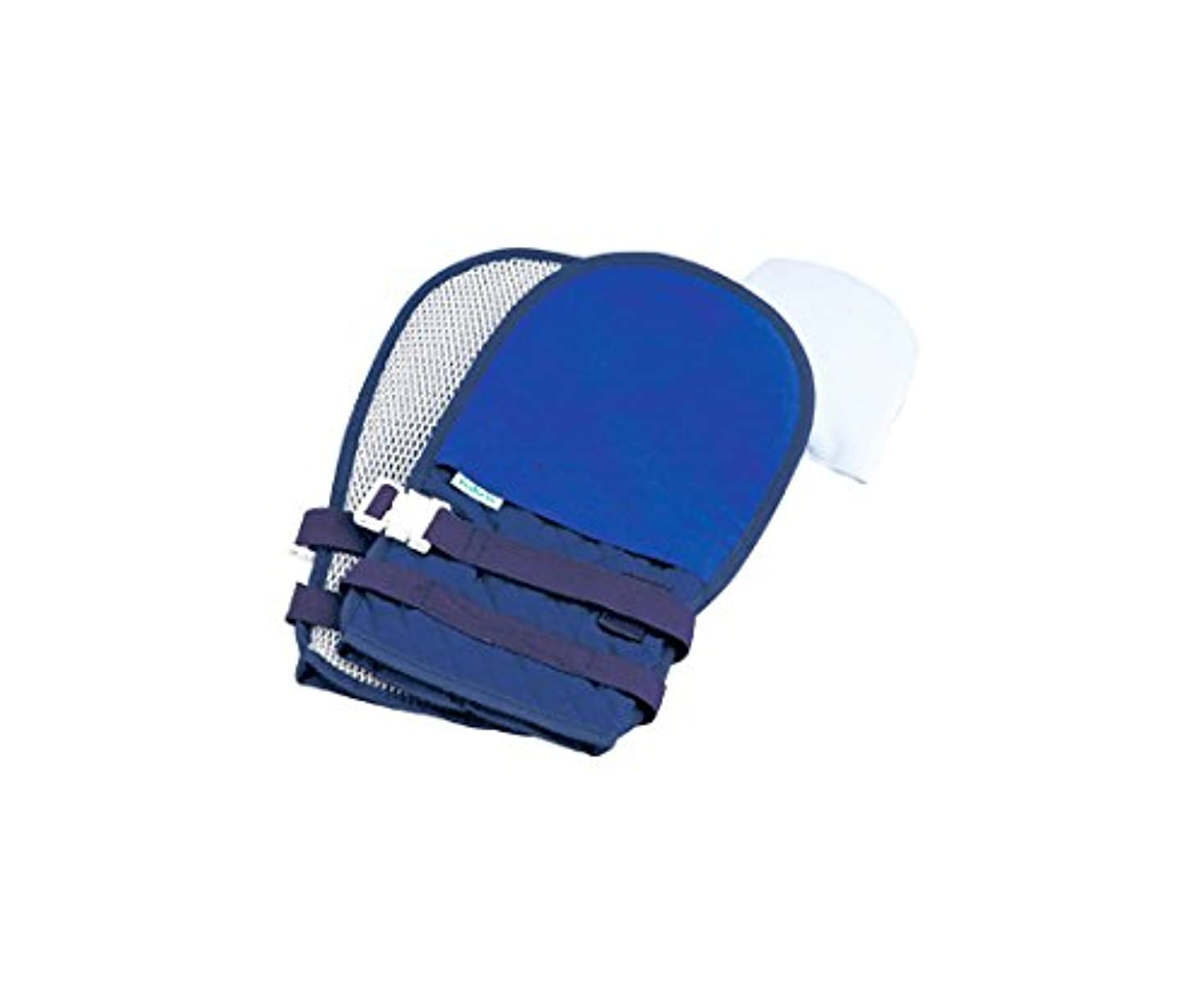 懺悔横に好色なナビス(アズワン)0-1638-62抜管防止手袋中キルティングブルー