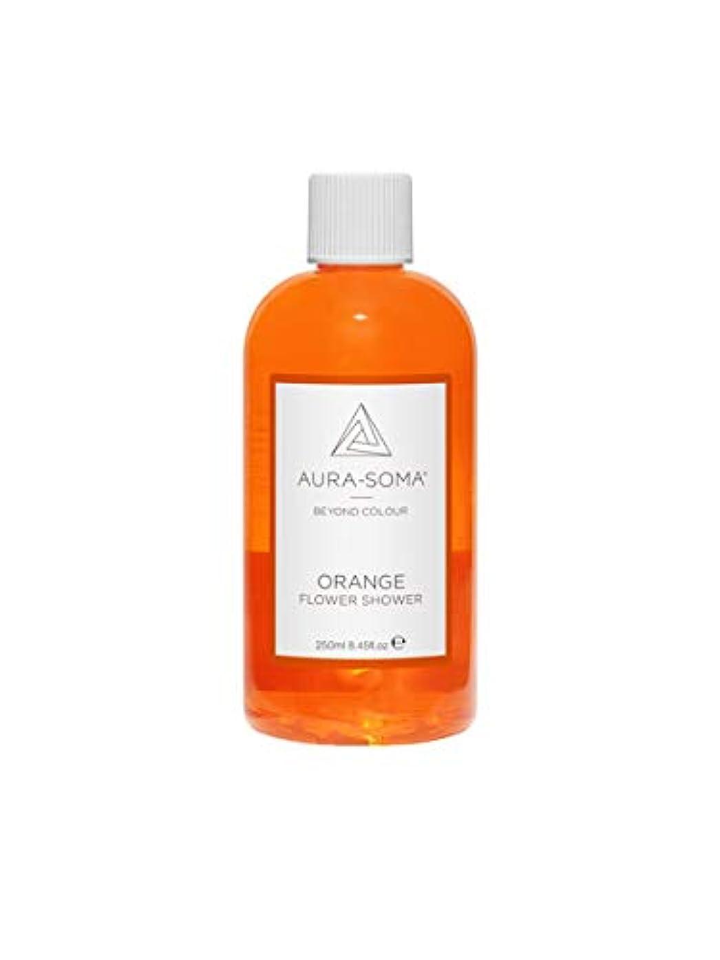 非常に怒っています壮大中フラワーシャワー 250ml オレンジ