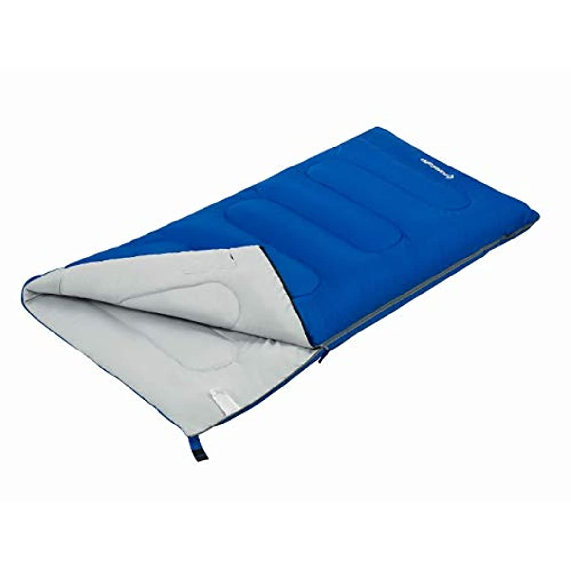 スタジオ広範囲にアンソロジーKingCamp Adults Sleeping Bag with Compression Sack- Lightweight Waterproof Envelope Warm 10.4f/-12c Oversize Extreme Wide, Great for Camping Hiking Traveling Outdoor Activities [並行輸入品]