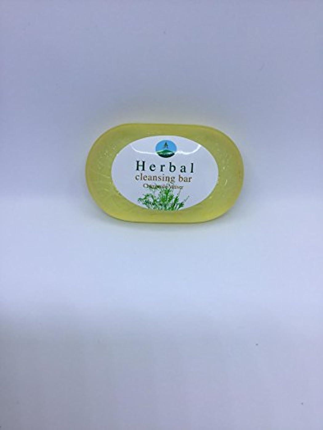 はっきりと特徴選挙Herbal cleansing Bar Chamomile-Vetiver