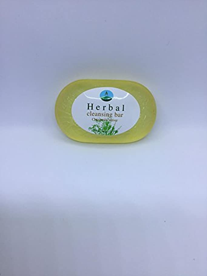 開業医サークル派生するHerbal cleansing Bar Chamomile-Vetiver