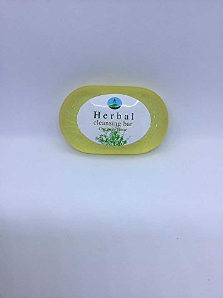 群集タクシーベスビオ山Herbal cleansing Bar Chamomile-Vetiver