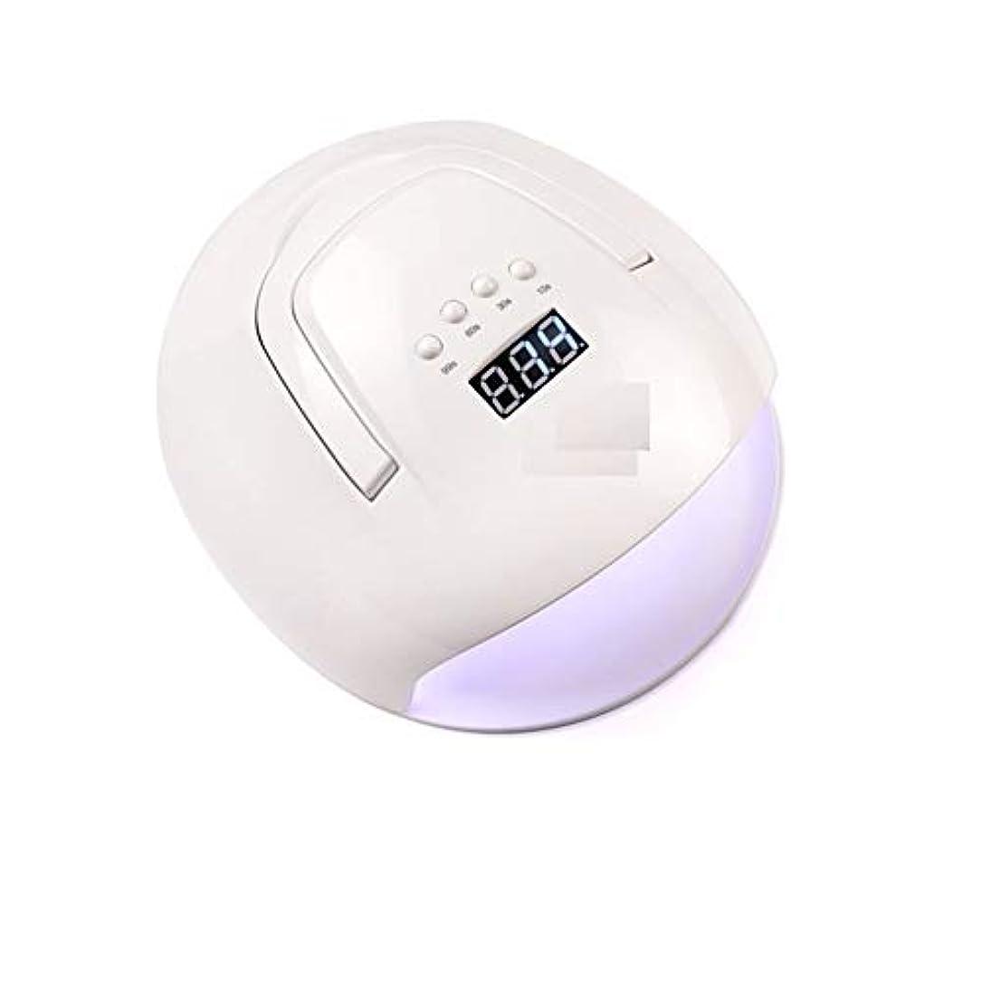 パーティション発生発言するLittleCat 機械光線療法ポータブルLEDランプ108W赤外線センサーポーランドプラスチック熱ランプドライヤーネイル (色 : American standard flat plug)