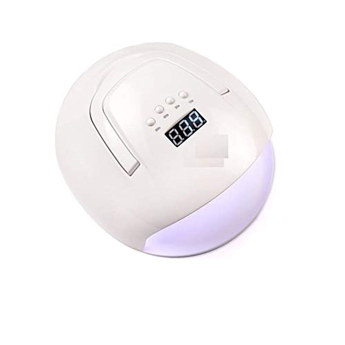 ホップ実施する再生LittleCat 機械光線療法ポータブルLEDランプ108W赤外線センサーポーランドプラスチック熱ランプドライヤーネイル (色 : American standard flat plug)