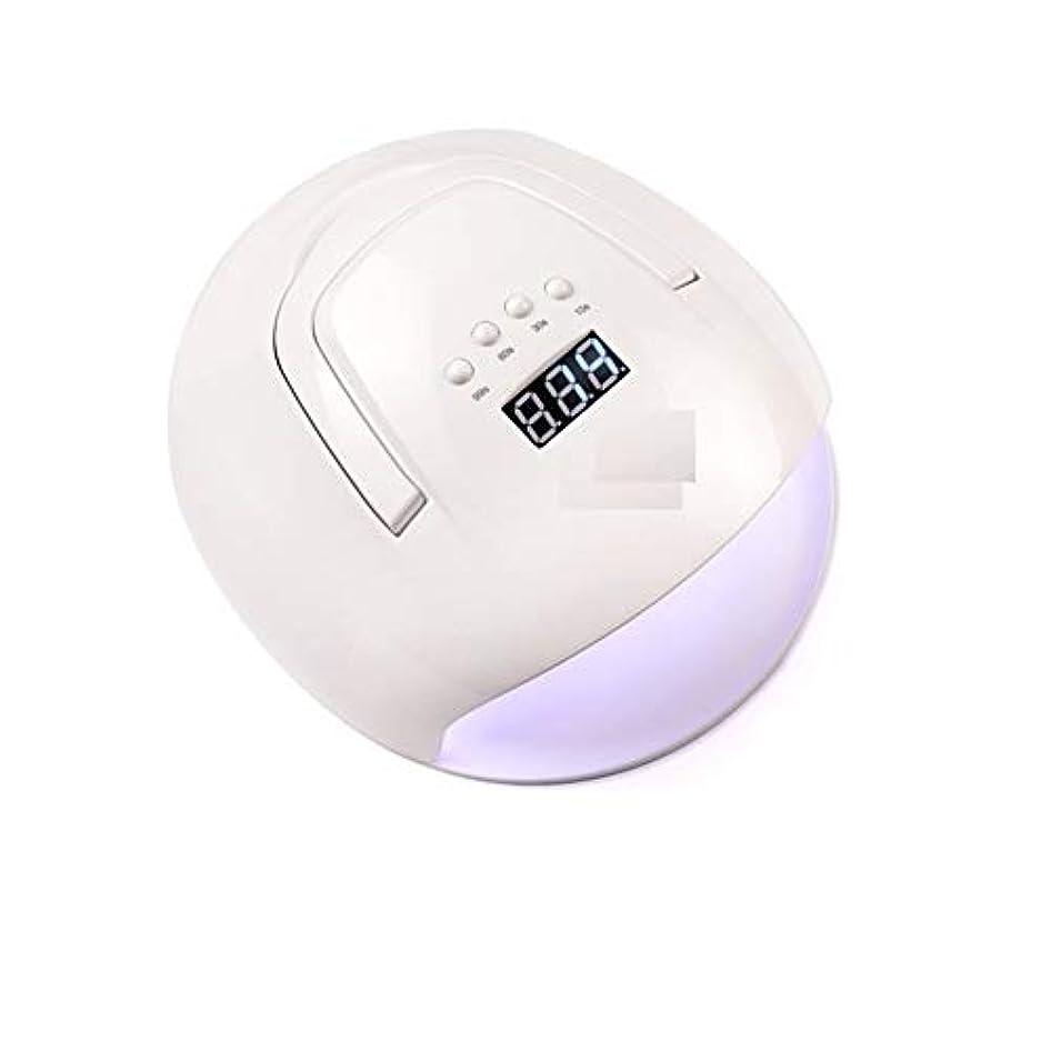フェードコミュニケーション日LittleCat 機械光線療法ポータブルLEDランプ108W赤外線センサーポーランドプラスチック熱ランプドライヤーネイル (色 : American standard flat plug)