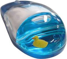 サンコー USB WireLess Optical Liquid Mouse あひるさんモデル [MPMOUSE10WL]