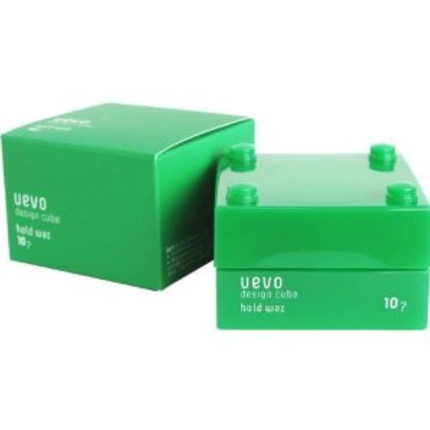 六月受信ネックレス【X2個セット】 デミ ウェーボ デザインキューブ ホールドワックス 30g hold wax