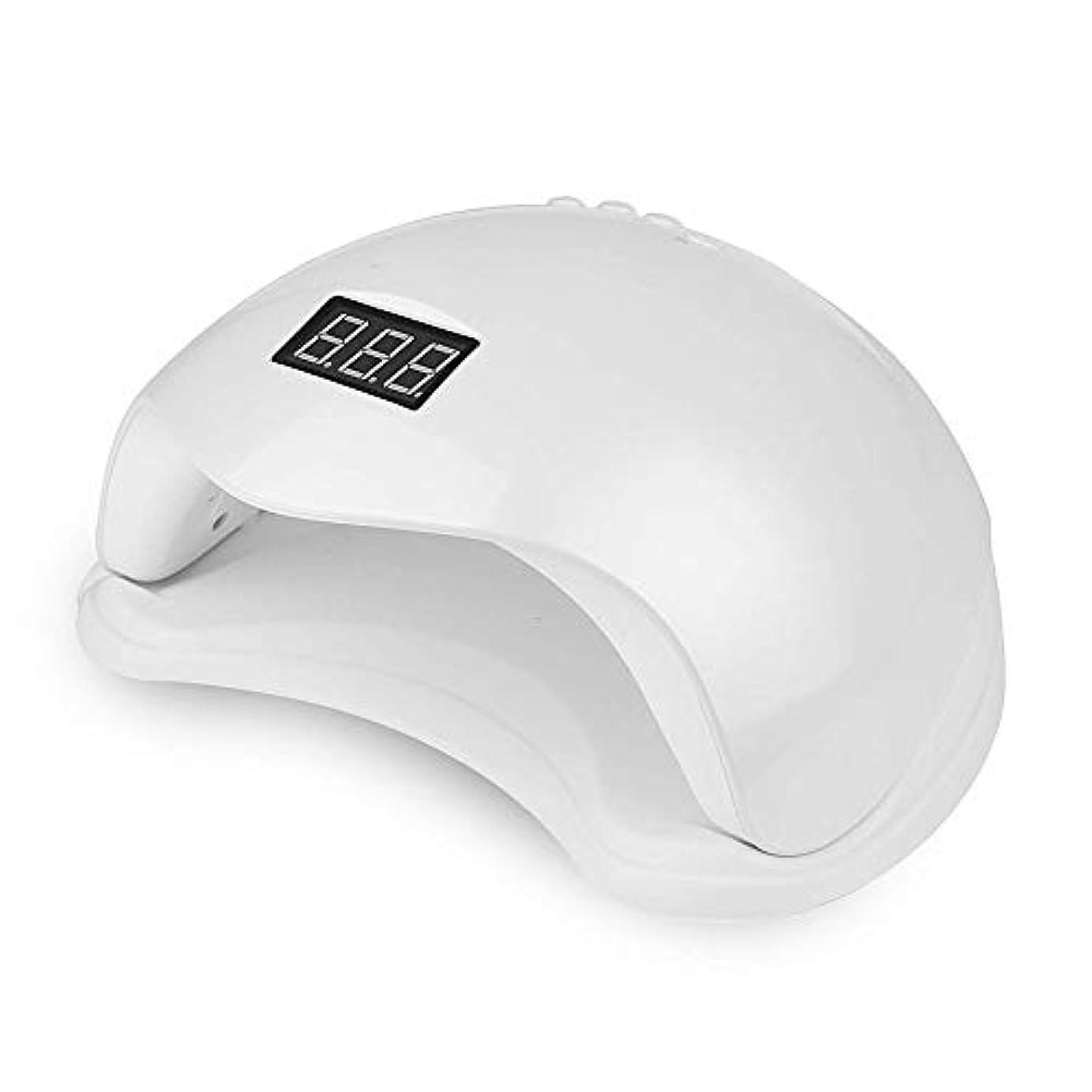 自動センサー付きプリセット48W LEDネイルライト4プリセットタイマー10秒、30秒、60秒、99秒