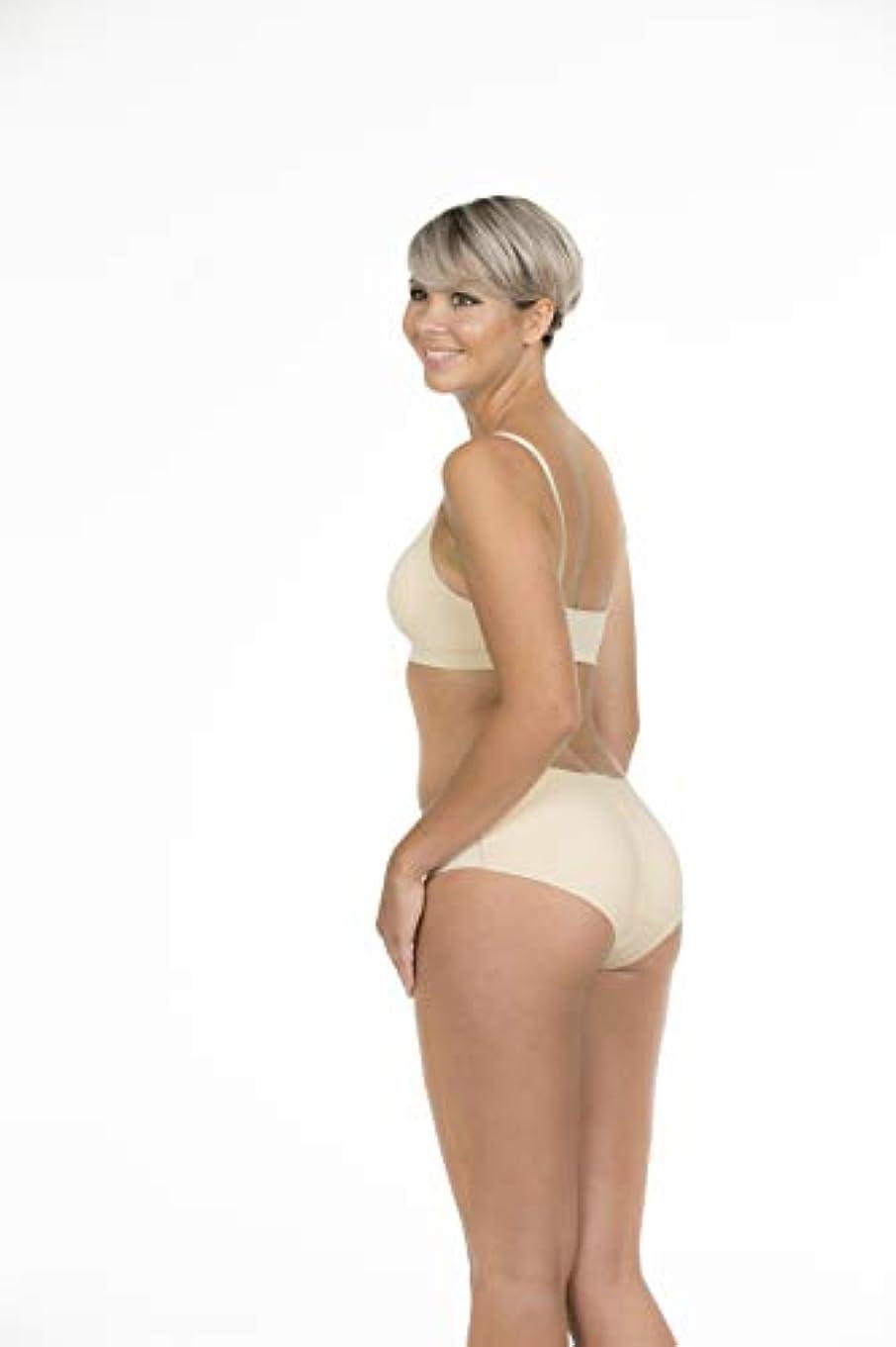 ピューひそかに愛国的なMAGIC BODYFASHION パデッドパンツ Padded Pants 1453 camel XL