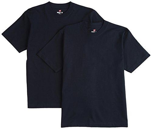 (ヘインズ) Hanes Tシャツ ビーフィー BEEFY 2枚組 H5180-2 370 ネイビー XL