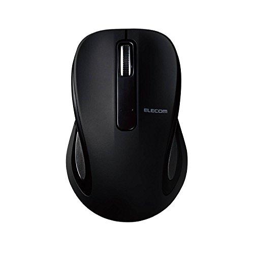 エレコム BlueLEDマウス Salalシリーズ Sサイズ Bluetooth/3ボタン ブラック M-BT17BBBK 1個