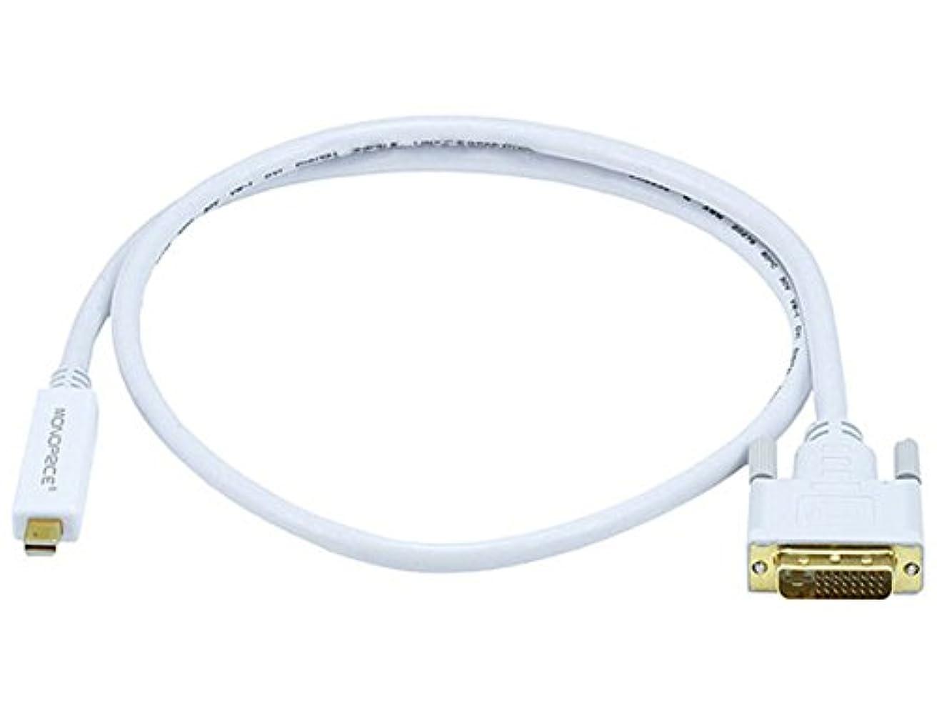 アカデミック全国今日Monoprice 3ft 32AWG Mini DisplayPort - DVI ケーブル