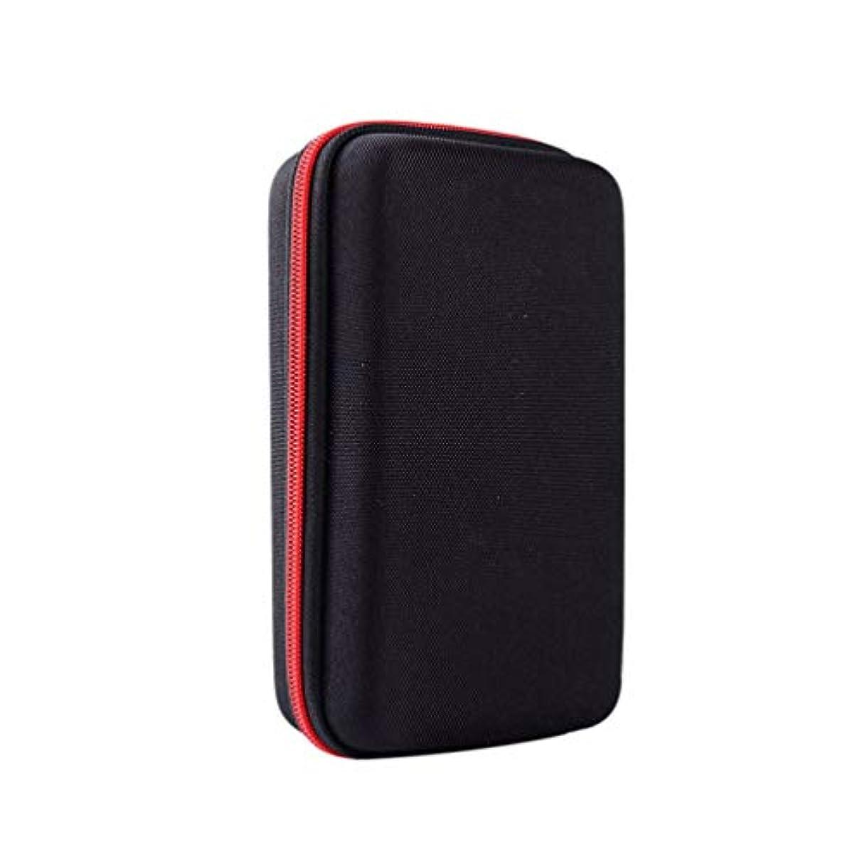 シプリー浸漬回復Frcolor シェーバーケースメンズシェーバー用収納ケースかみそりバッグevaハードシェーバーケースジッパーオーガナイザー携帯便利