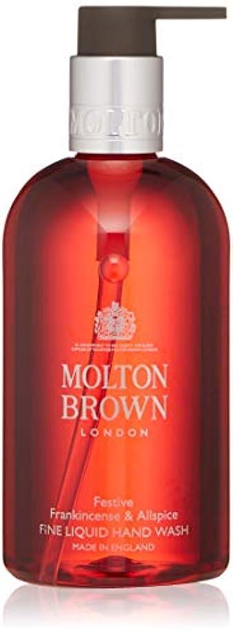 教師の日形成パドルMOLTON BROWN(モルトンブラウン) フランキンセンス&オールスパイス コレクション F&A ハンドウォッシュ 300ml