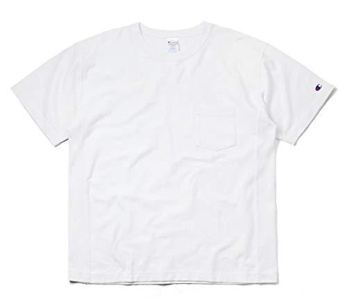 Champion チャンピオン C3-P318 REVERSE WEAVE S/S ポケット Tシャツ(L 010 WHITE)