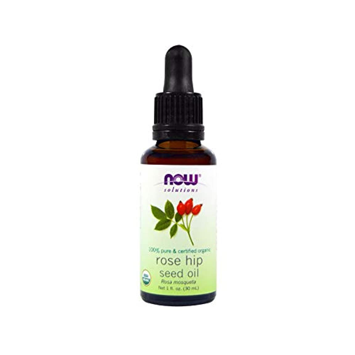 岸暗黙着服Certified Organic Rose Hip Seed Oil, 1 fl oz (30 ml) 海外直送品