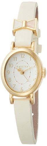 [フィールドワーク]Fieldwork 腕時計 ファッションウォッチ ラゾ アナログ 革ベルト ホワイト ST116-1 レディース